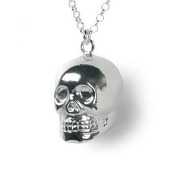 singing skull necklace