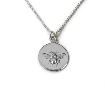 silver-busy-bee-necklace