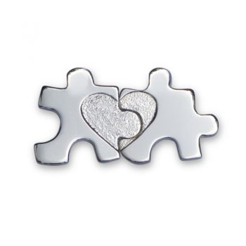 silver jigsaw keepsakes set