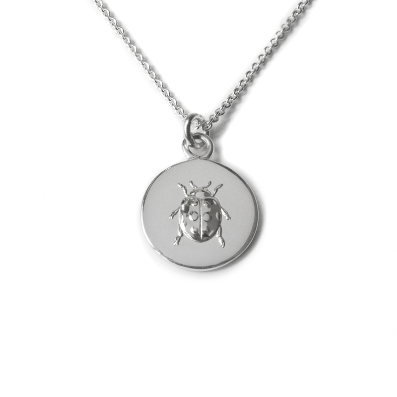 287a438bf5004 silver lady luck necklace