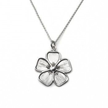 neck flower std chain