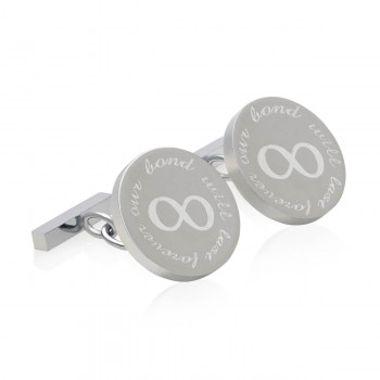 our bond will last forever cufflinks