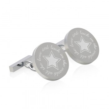 all the love and luck in the world cufflinks
