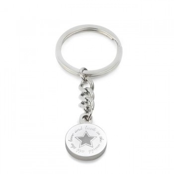 all the love and luck keyring