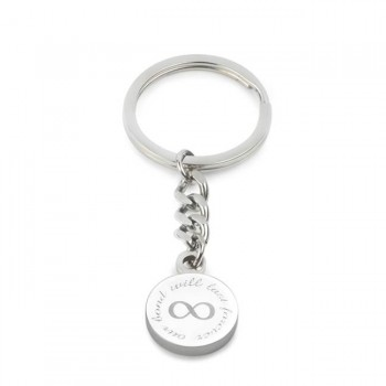 our bond will last forever keyring