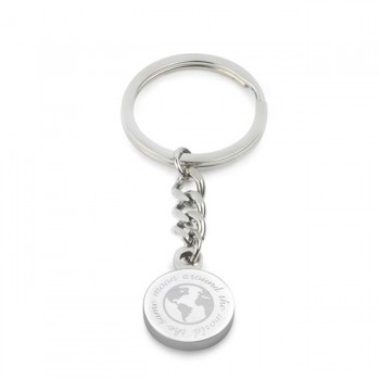 same moon around the world keyring