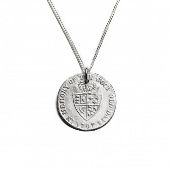 silver in  memory of the good old days necklace