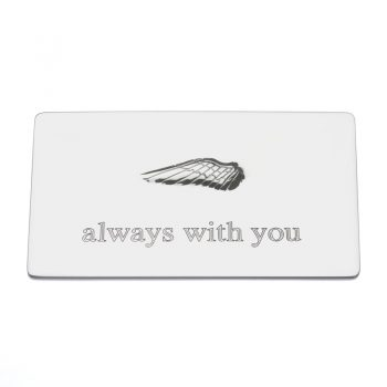 always with you secret message plaque