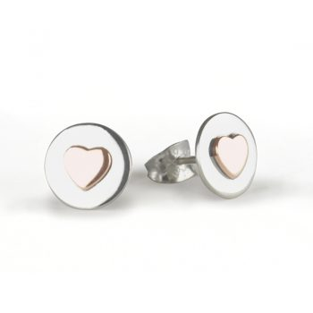 Love circle ear copper 800-1