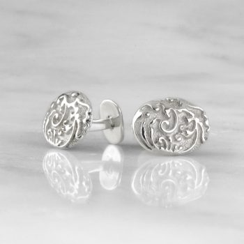 Oval Baroque Cufflinks