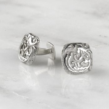 Square Baroque Cufflinks