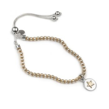 Bead brac rose-rose star 800