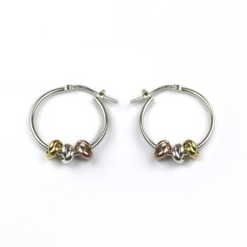 3 knot earrings